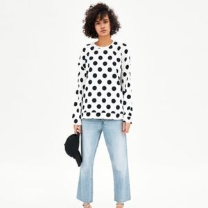 NWT Zara Basic Sweatshirt